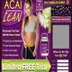 Acai Lean Berry, website coded by DraZtic